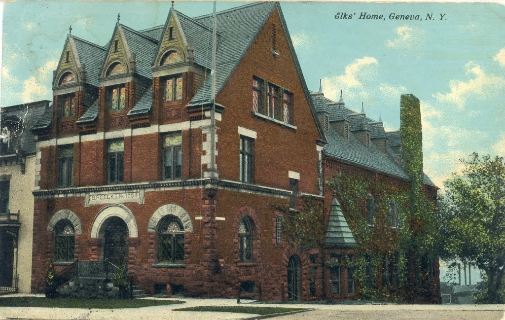 postcard-showing-elks-club-building-in-early-1900s