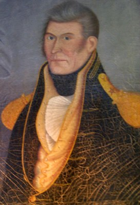Painting of General Hugh Dobbin.