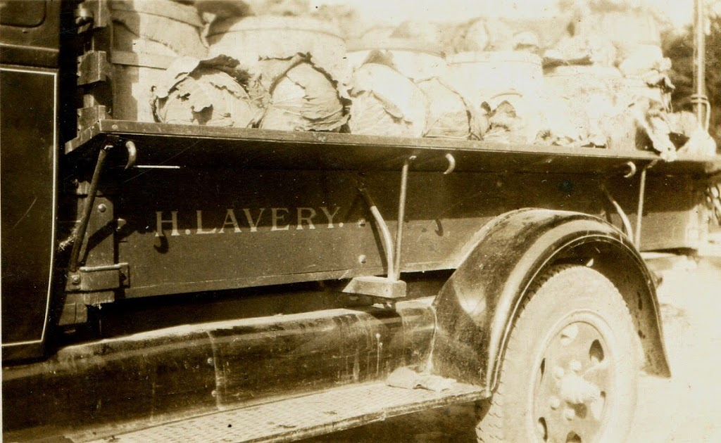 Truck my grandfather drove produce to Albany markets