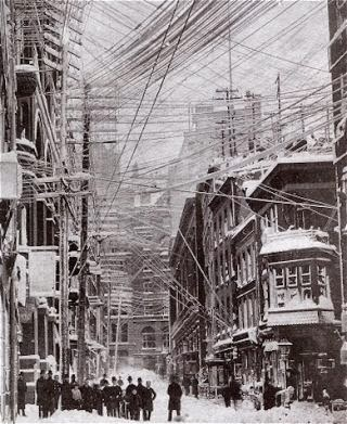 New York City after the Blizzard of 1888