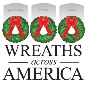 The 2015 logo for Wreaths Across America