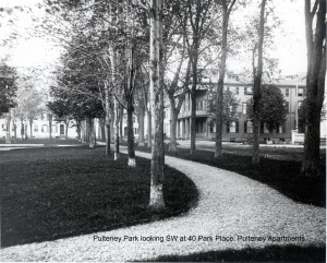 Pulteney apts on the park
