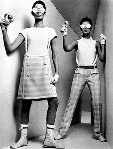 "Courreges ""moon girl"" designs"