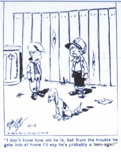 cartoon-of-2-boys-with-a-dog-text-is-i-don't-know-how-old-he-is-but-from-the-trouble-he-gets-into-at-home-i'd-say-he's-probably-a-teenager!