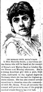 Article from about John Philip Sousa performance