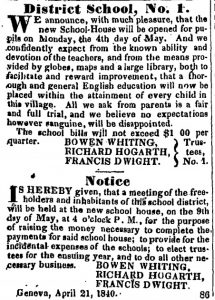 newspaper-article-announcing-the-opening-of-the-school-district's-new-school