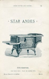 illustration of an Andes cook stove