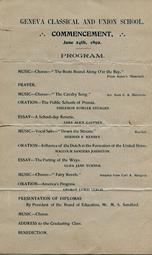 1892-commencement-program