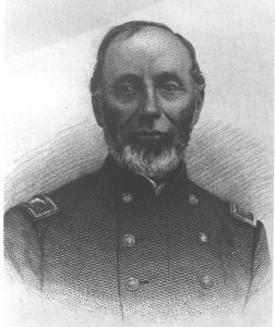 pencil sketch of a man in uniform