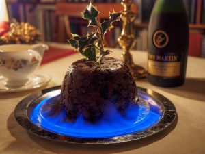 flaming-pudding