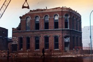 older-brick-building-being-knocked-down
