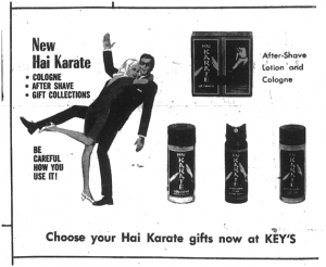 Newspaper ad for Key's