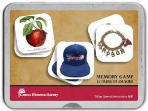 Cover to the Geneva Memory Game