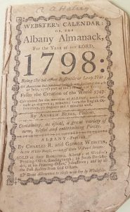 front cover of an almanac