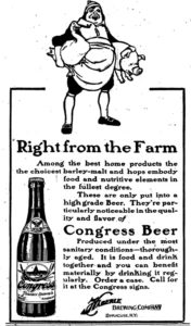 congress-beer-ad-for-bottled-beer-1910