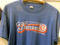 Blue T Shirt With Geneva Cubs Team Logo