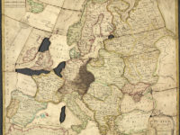 1767 map of Europe