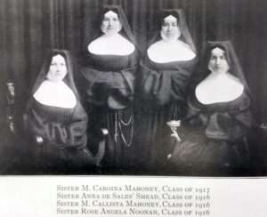 Four Nuns In Habits