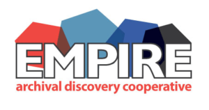 Logo for Empire Archival Discovery Cooperative, a website that hosts finding aids